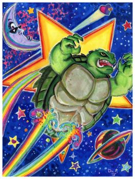 Gamera, to be Frank by DJNebulous