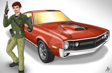 1970 AMX Javelin from AMC by TR1Byron