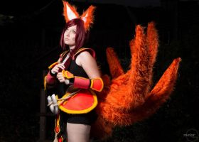 Daydreaming | Foxfire Ahri , League Of Legends by MYSD-Cosplay