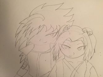 The Swordsman and SwordsWoman by TyAnimations321