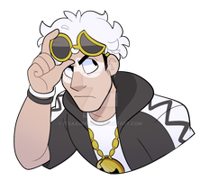 Guzma by itsaaudraw