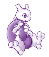 Mewtwo by Eltharion