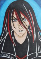 Acheron Parthenopaeus ACEO card by LadyNin-Chan