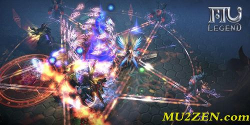 MU Legend gameplay screenshot by mu2zen