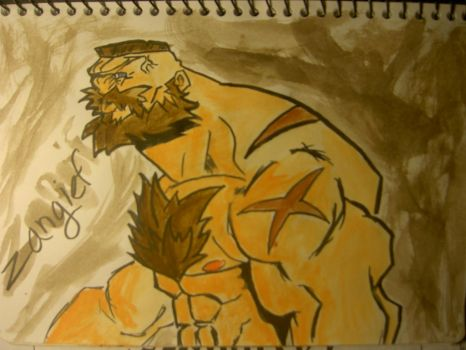 Street Fighter Zangief by quakesshakes