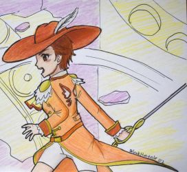 ClassicaLoid - Kanana in Action by BlackHayate02