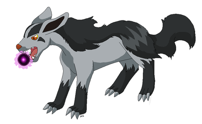 Mightyena by PiscesMoon