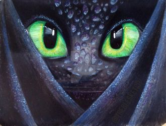 Toothless the Nightfury by The-AllSparkle
