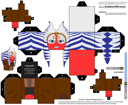 Cubee - Shaak Ti by CyberDrone