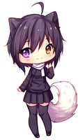 Commission - Sweet smile by Hyanna-Natsu