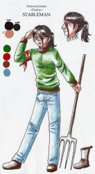 PA: Staff - Donny the Stableman by KrayComics