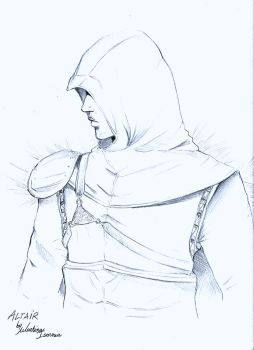Altair sketch by MartyIsi