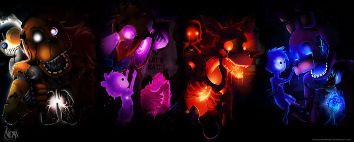 Five Nights at Freddy's Wallpaper by TheNornOnTheGo