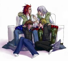 KH: For A Change by kitten-chan
