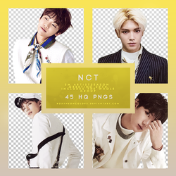 NCT SEASON GREETINGS 2018 Png pack by RoxyNeonColors