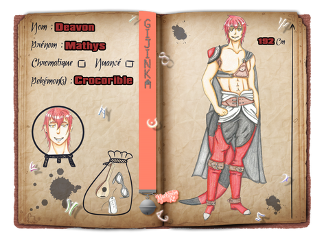 [Maelstrom] Fiche personnage Mathys by Bul-chan