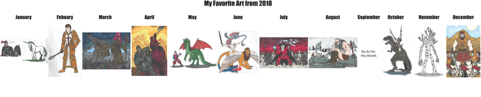 My Favorite Art from 2018 by DWestmoore