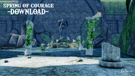 Spring of Courage [MMD] DL by JuleHyrule