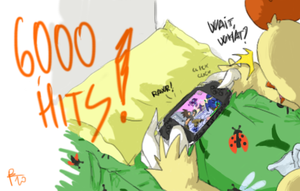 6000 Hits by CombotheBeehen