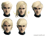 Draco Malfoy. Hairstyles. Part 1. by Mariyand-R