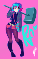 Ramona Flowers by SGTMADNESS