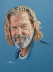 Jeff Bridges portrait by Andromaque78