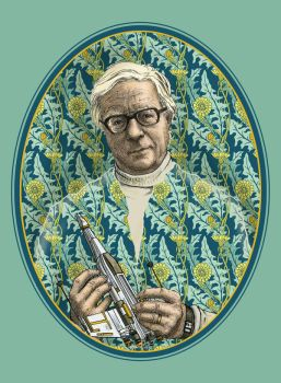 Ray Bradbury by CoalRye