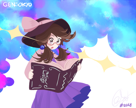 Gensokyo is Up ! by FlanBow