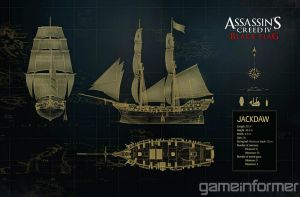 Assassin's Creed IV: Black Flag Jackdaw Ship by DOM098652
