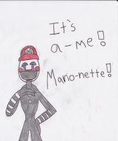 It's A-Me! Marionette! by SaintHeartwing