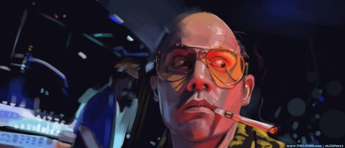 Day 37-40: Fear and Loathing by YogFingers