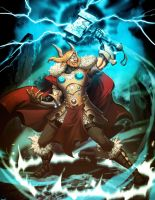 Thor God of Thunder by GENZOMAN