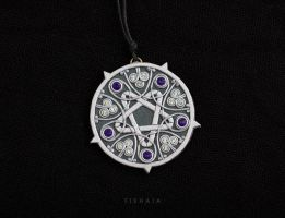Yennefer's Pentacle by tishaia