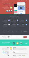 Esy App Responsive WordPress One Page Theme by webdesigngeek