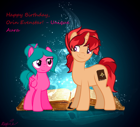 Orin BDay by ActualAspie