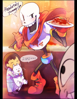 Papyrus kawaii by kzmn