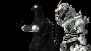 MMD Godzilla-Oxygen Destroyer + DL by MyLittleGZilla