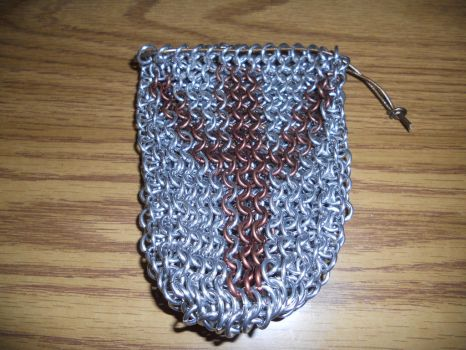 Chainmail Rune Bag - Eolh by Lady-Xythis