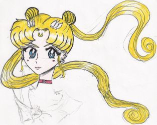 sailor moon sketch by neko543