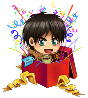 Gift for Rivaille - SNK by Timagirl