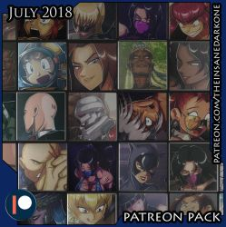 Patreon July 2018 art pack now available! by TheInsaneDarkOne