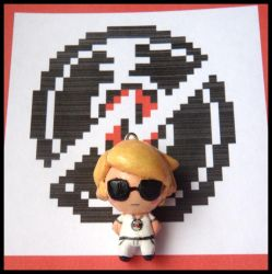 Chibi-Charms: Homestuck Dave Strider by MandyPandaa