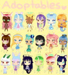 ADOPTABLES! $3.50/350pts [OPEN] by Zitatchi