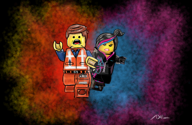 Everything Is Awesome -The LEGO Movie by PharmArtist