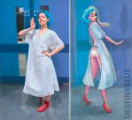 Hospital Outfit of the Day! by DestinyBlue