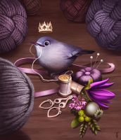 Queen of Skein by TLCook