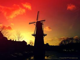 The Lost Windmill by marjol3in1977