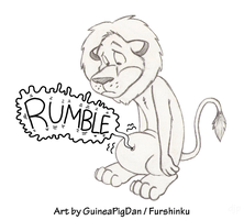 Hungry Lion by GuineaPigDan