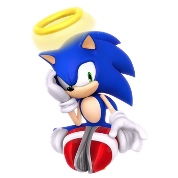 Angel Sonic Render by Nibroc-Rock