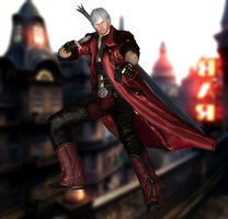 Dante(Default) Devil May Cry 4 Special Edition by xXKammyXx